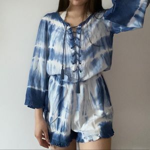 american eagle outfitters boho romper